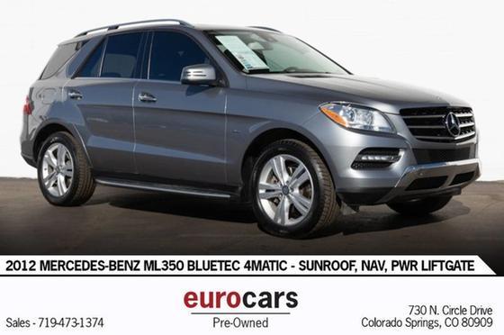 2012 Mercedes-Benz ML-Class ML350 BlueTEC:24 car images available