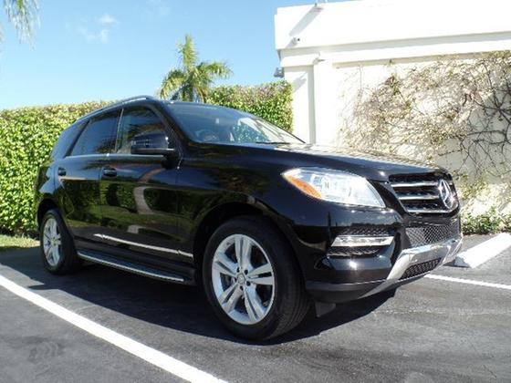 2013 Mercedes-Benz ML-Class ML350:12 car images available