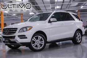 2014 Mercedes-Benz ML-Class ML350:24 car images available