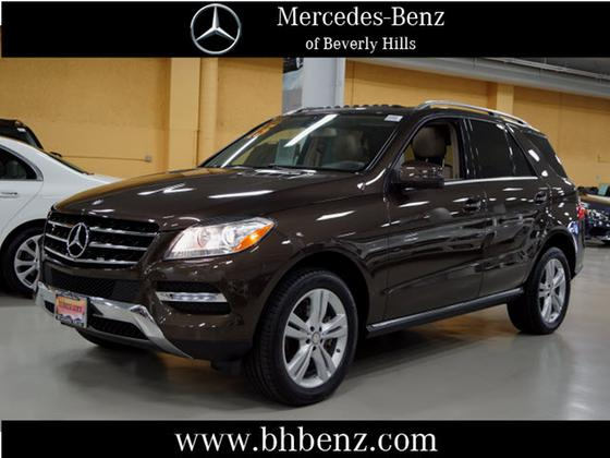 2015 Mercedes-Benz ML-Class ML350:22 car images available