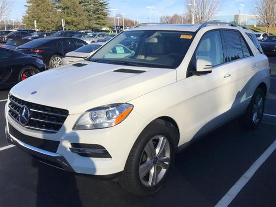 2013 Mercedes-Benz ML-Class ML350:2 car images available