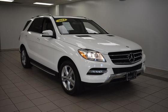 2014 Mercedes-Benz ML-Class ML350:19 car images available