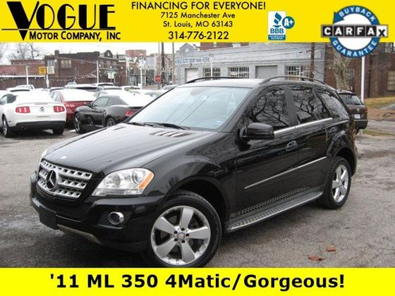 2011 Mercedes-Benz ML-Class ML350:24 car images available