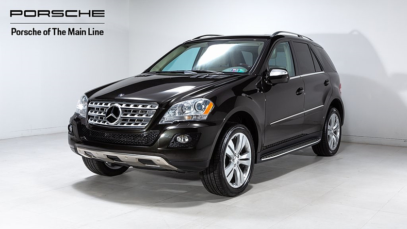 2010 Mercedes-Benz ML-Class ML350:21 car images available