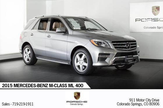 2015 Mercedes-Benz ML-Class ML400 4Matic:18 car images available