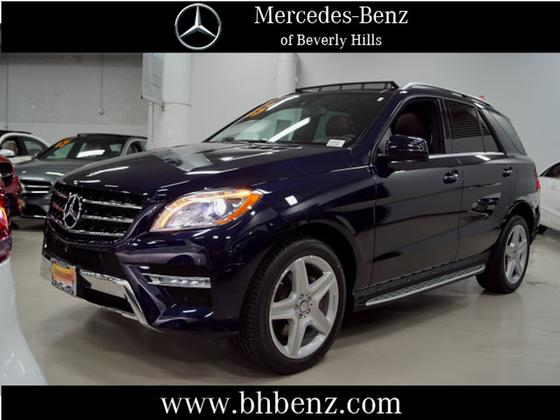 2015 Mercedes-Benz ML-Class ML400 4Matic:21 car images available