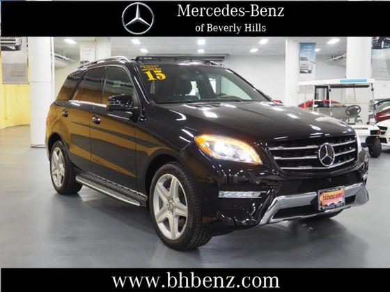 2015 Mercedes-Benz ML-Class ML400 4Matic:19 car images available