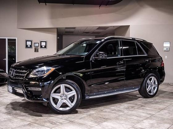 2013 Mercedes-Benz ML-Class ML550 4Matic:24 car images available
