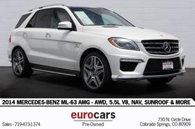 2014 Mercedes-Benz ML-Class ML63 AMG:24 car images available