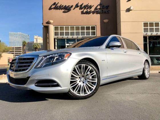 2016 Mercedes-Benz S-Class Maybach S600:24 car images available
