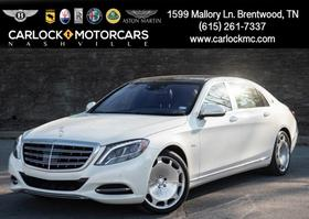 2017 Mercedes-Benz S-Class Maybach S600:24 car images available
