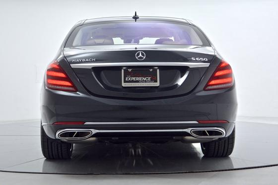 2018 Mercedes-Benz S-Class Maybach S650
