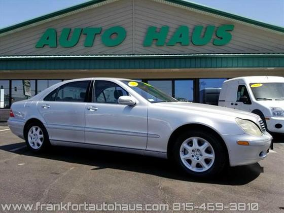 2002 Mercedes-Benz S-Class S430:24 car images available