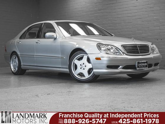2000 Mercedes-Benz S-Class S430:24 car images available