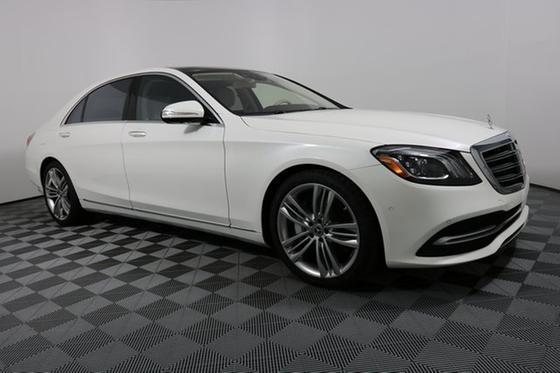 2018 Mercedes-Benz S-Class S450:17 car images available