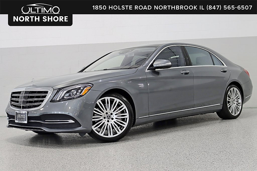 2019 Mercedes-Benz S-Class S450:24 car images available