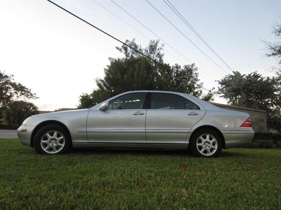 2001 Mercedes-Benz S-Class S500:20 car images available