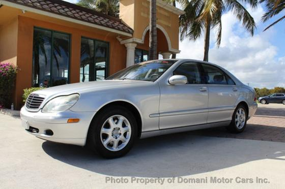 2001 Mercedes-Benz S-Class S500:24 car images available