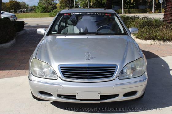 2001 Mercedes-Benz S-Class S500