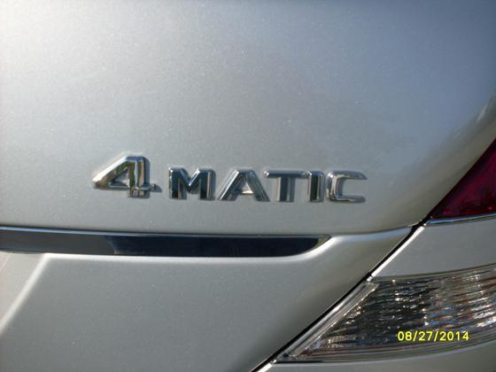 2008 Mercedes-Benz S-Class S550 4Matic