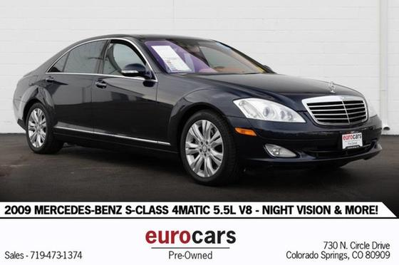 2009 Mercedes-Benz S-Class S550 4Matic:24 car images available