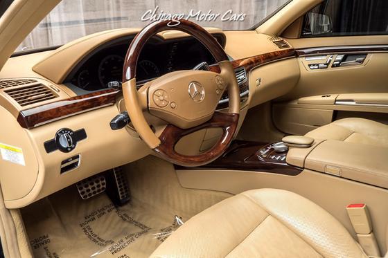 2011 Mercedes-Benz S-Class S550 4Matic