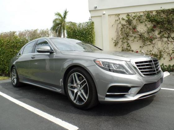 2014 Mercedes-Benz S-Class S550 Sport:12 car images available