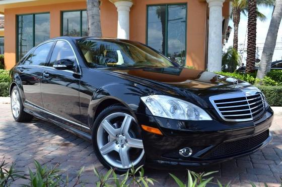 2008 Mercedes-Benz S-Class S550:24 car images available