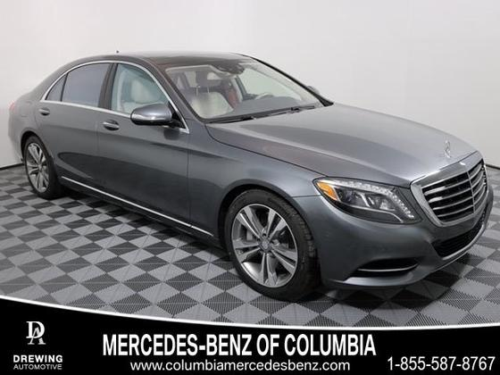 2017 Mercedes-Benz S-Class S550:12 car images available