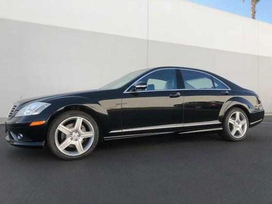 2009 Mercedes-Benz S-Class S550:16 car images available
