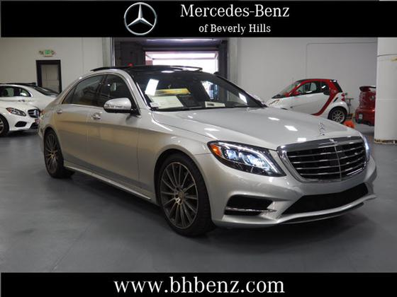 2015 Mercedes-Benz S-Class S550:19 car images available