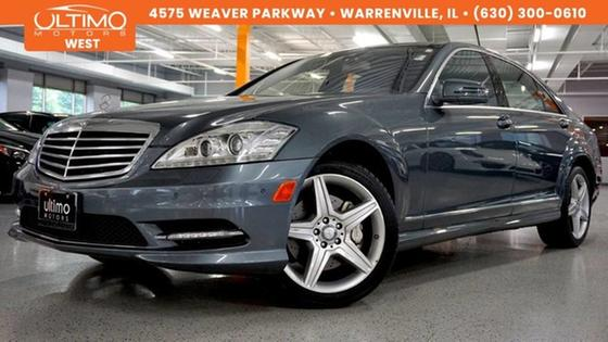2010 Mercedes-Benz S-Class S550:24 car images available