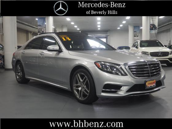2014 Mercedes-Benz S-Class S550:19 car images available
