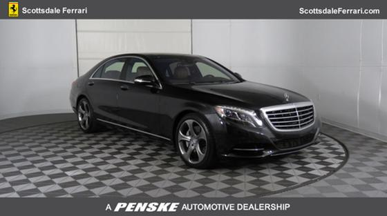 2014 Mercedes-Benz S-Class S550:24 car images available