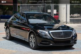 2016 Mercedes-Benz S-Class S550:24 car images available