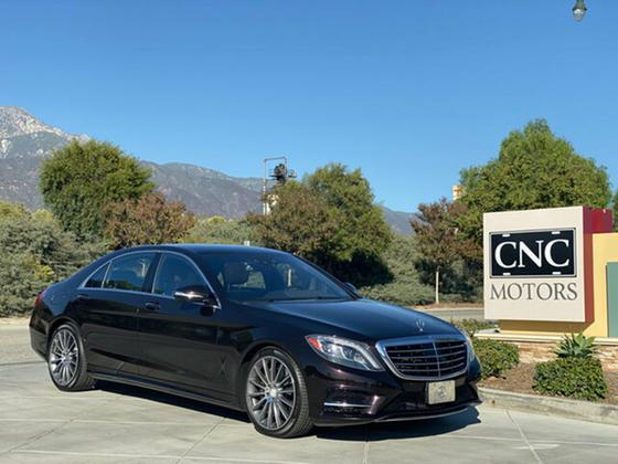 2014 Mercedes-Benz S-Class S550:9 car images available