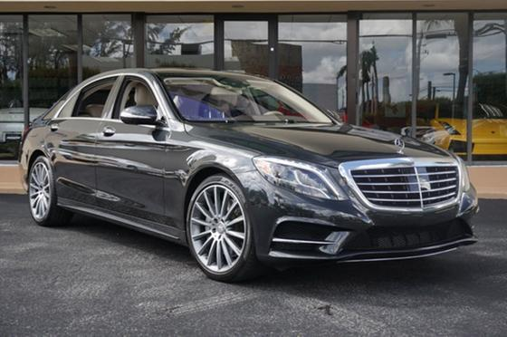 2015 Mercedes-Benz S-Class S550:24 car images available