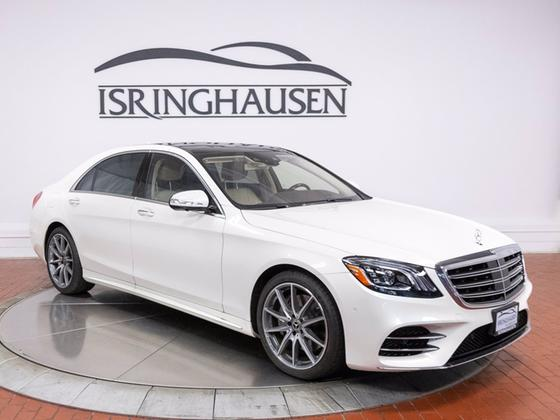 2018 Mercedes-Benz S-Class S560 4Matic:22 car images available