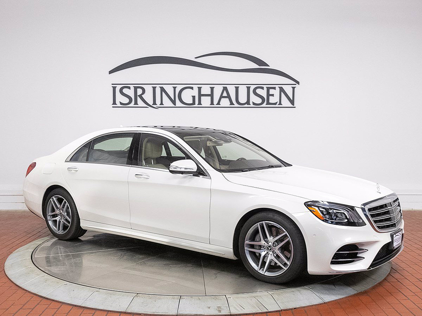 2020 Mercedes-Benz S-Class S560 4Matic:21 car images available