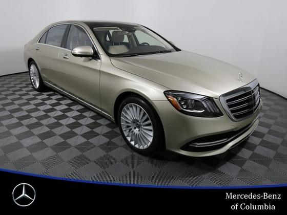 2019 Mercedes-Benz S-Class S560:20 car images available