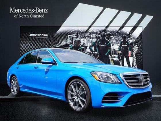 2020 Mercedes-Benz S-Class S560:15 car images available