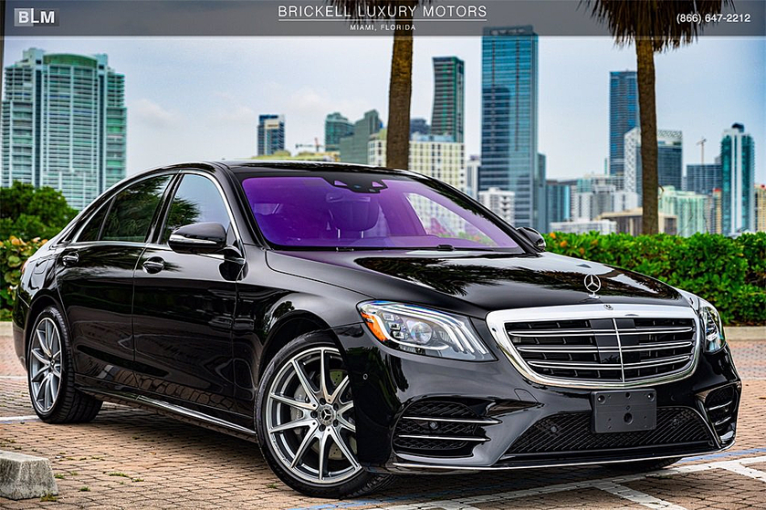 2020 Mercedes-Benz S-Class S560:24 car images available