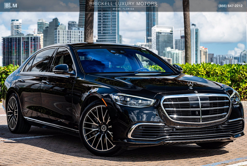 2021 Mercedes-Benz S-Class S580:24 car images available