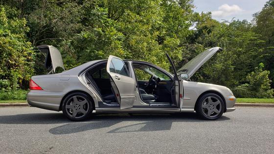 2003 Mercedes-Benz S-Class S600