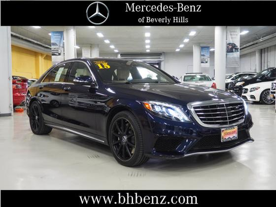 2015 Mercedes-Benz S-Class S63 AMG 4Matic:19 car images available