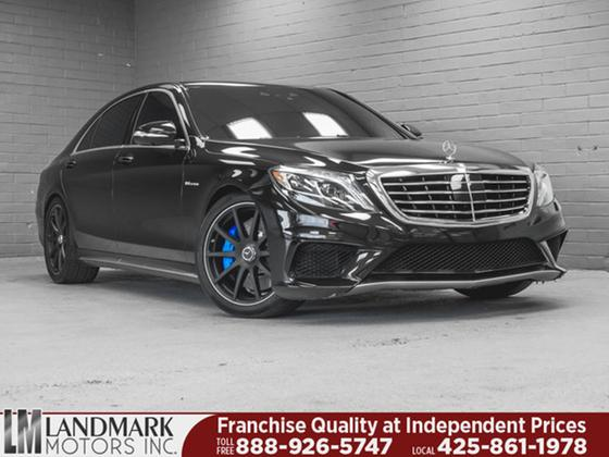 2014 Mercedes-Benz S-Class S63 AMG 4Matic:24 car images available
