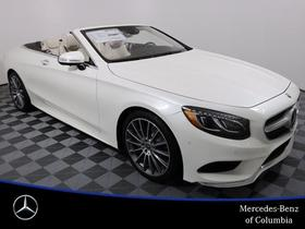 2017 Mercedes-Benz S-Class S63 AMG Cabriolet:22 car images available