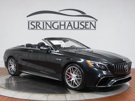 2019 Mercedes-Benz S-Class S63 AMG Cabriolet:24 car images available