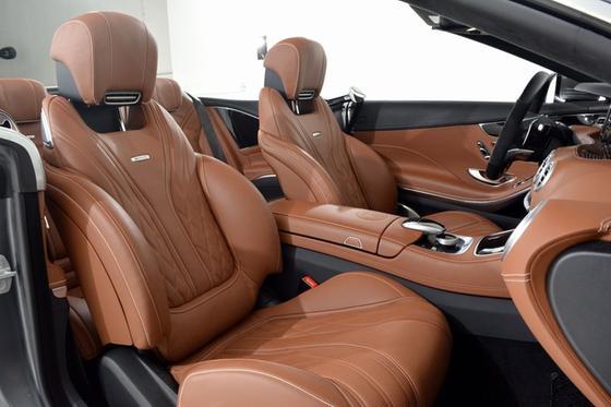 2017 Mercedes-Benz S-Class S63 AMG Cabriolet