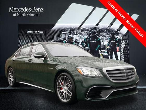 2020 Mercedes-Benz S-Class S63 AMG:20 car images available